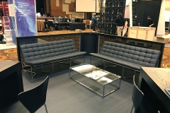 Gear-Sofas-with-Sandor-Cocktail-Table-and-Black-Format-Bar-Tables-with-Black-Tendy-Bar-Stools
