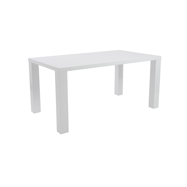Abby 63in Conference Table - White