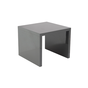Abby End Table - Gray