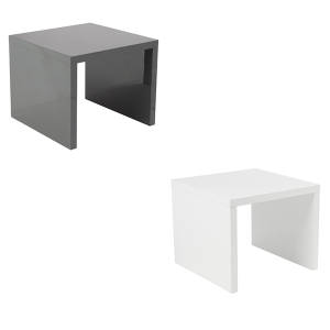 Abby End Tables - V-Decor Trade Show Furniture Rentals in Las Vegas