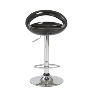 Agnes Adjustable Bar Stool - Black