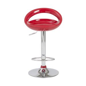 Agnes Adjustable Bar Stool - Red