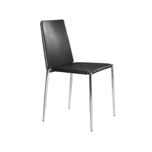 Alex Cafe Chair - Black
