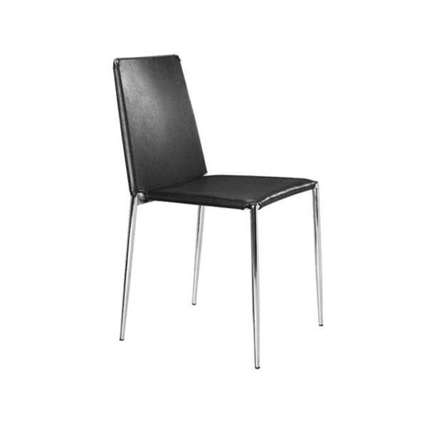 Alex Cafe Chair - Black