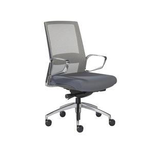 Alpha Office Chairs - Gray