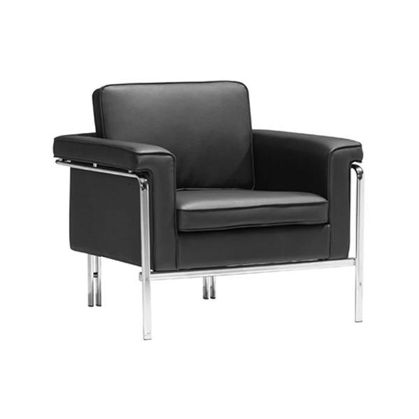 Amanda Lounge Chair - Black