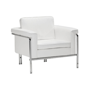 Amanda Lounge Chair - White