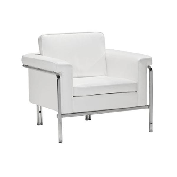 Amanda Lounge Chair - White