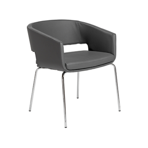 Amelia Lounge Chair - Gray