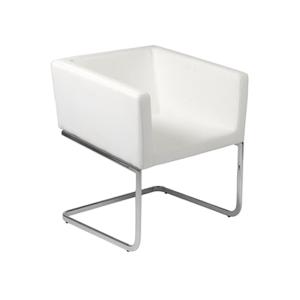 Ari Lounge Chair - White