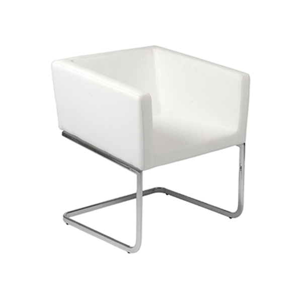 Ari Lounge Chair - White