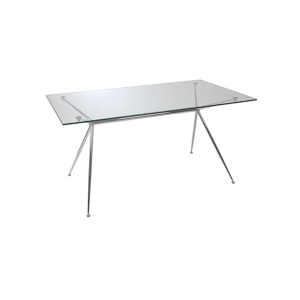 Atos 66in Conference Table - Chrome Base