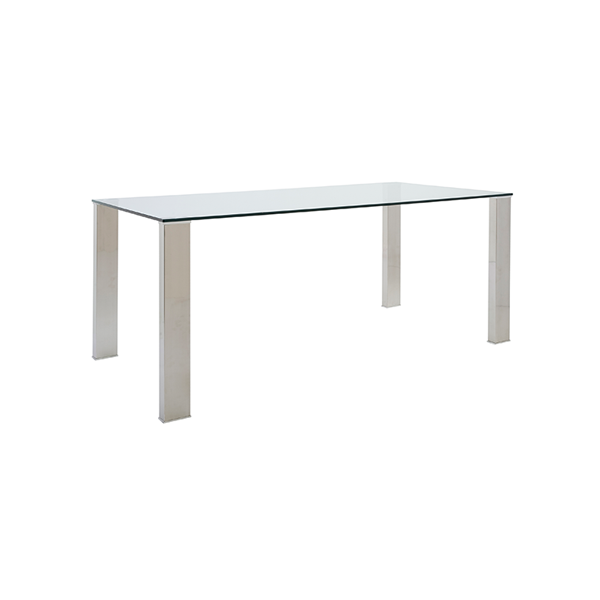 Beth 71in Conference Table - V-Decor Trade Show Furniture Rentals in Las Vegas