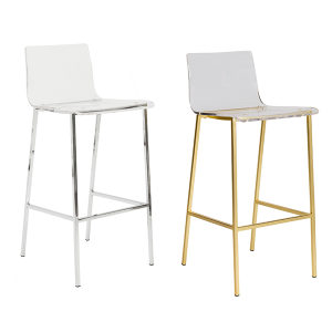 Chloe Bar Stools - V-Decor Trade Show Furniture Rentals