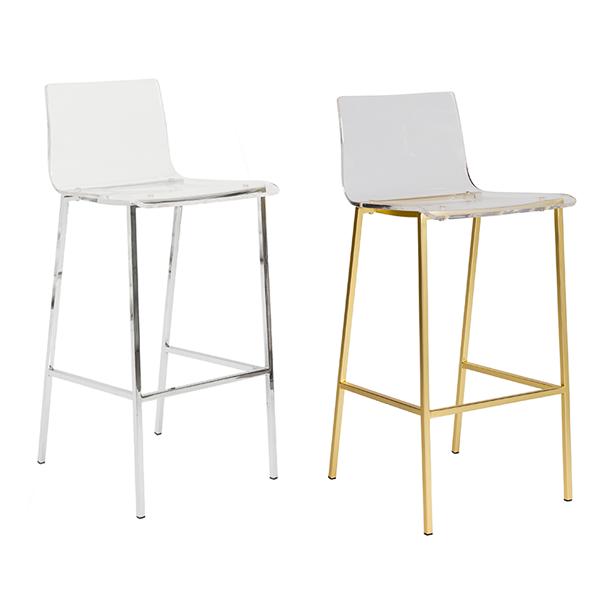 Chloe Bar Stools - V-Decor Trade Show Furniture Rentals