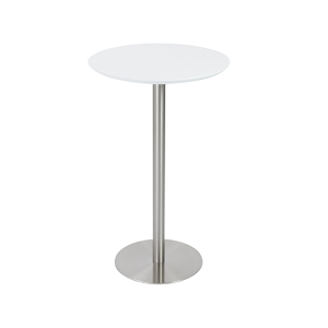 Cookie Bar Table - White