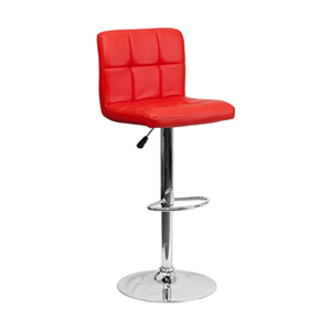 Cyd Bar Stool - Red