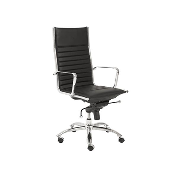 Dirk High Back Office Chair - Black