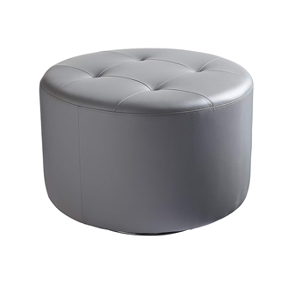 Domani Large Swivel Ottoman - Gray