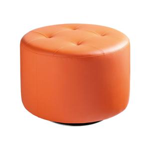 Domani Large Swivel Ottoman - Orange