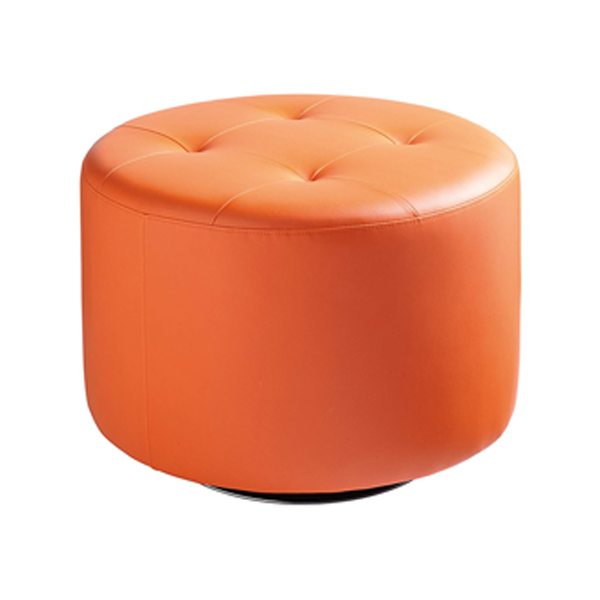 Domani Large Swivel Ottoman - Orange