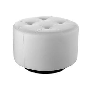 Domani Large Swivel Ottoman - White