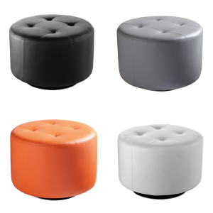 Domani Large Swivel Ottomans - V-Decor Trade Show Furniture Rentals in Las Vegas