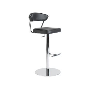 Draco Adjustable Bar Stool - Black