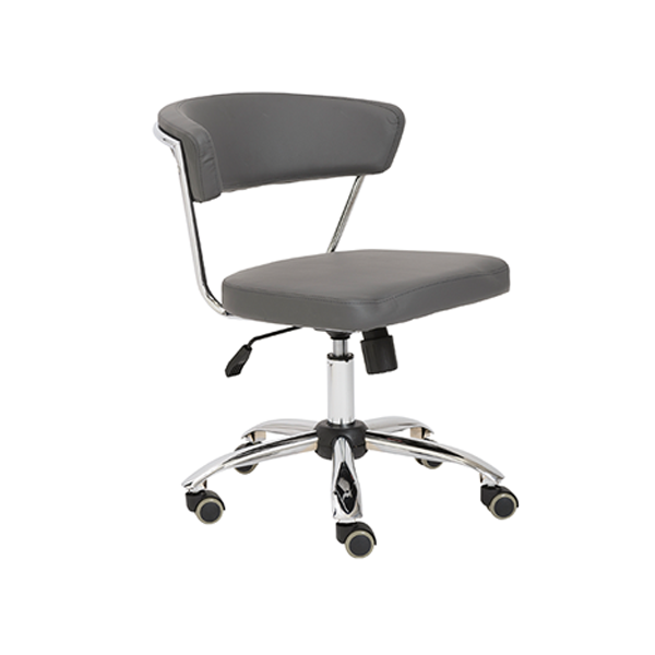 Draco Armless Office Chair - Gray