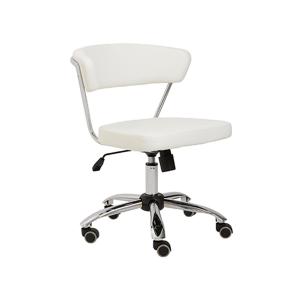Draco Armless Office Chair - White
