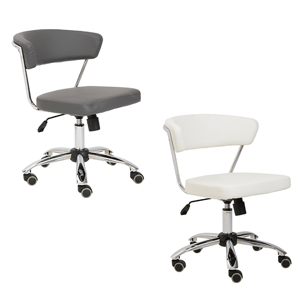 Draco Armless Office Chairs - V-Decor Trade Show Furniture Rentals in Las Vegas