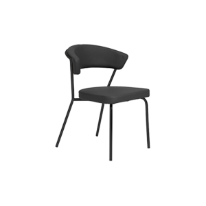 Draco Chair - Black-Black
