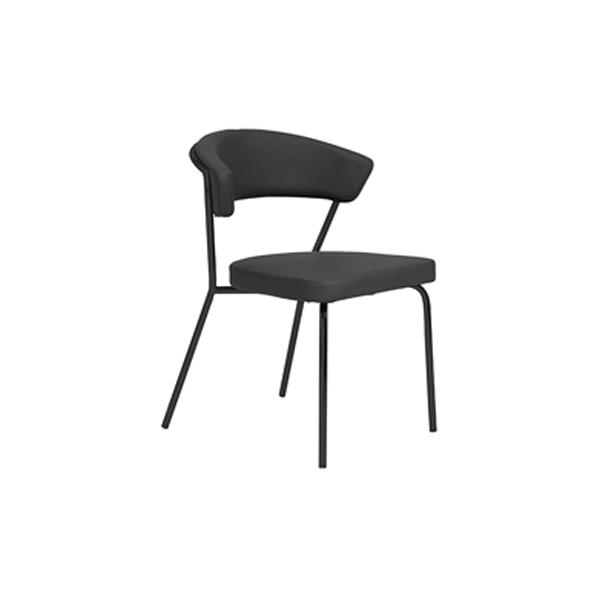 Draco Chair - Black-Black