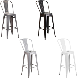 Eli Bar Stools - V-Decor Trade Show Furniture Rentals
