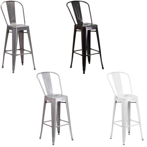 Eli Bar Stools - V-Decor Trade Show Furniture Rentals