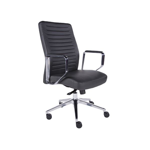 Emory Low Back Office Chair - Dark Gray