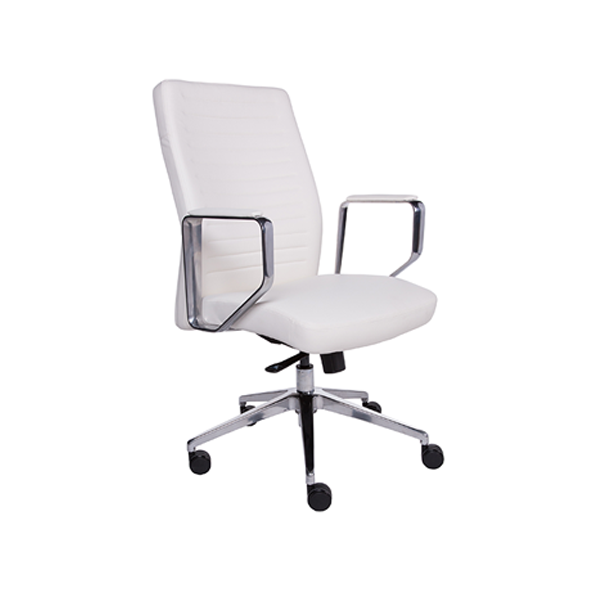 Emory Low Back Office Chair - White