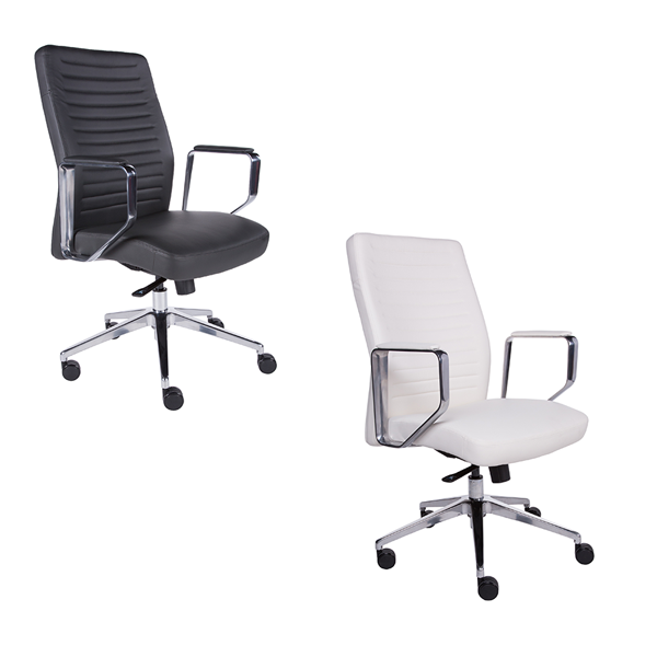 Emory Low Back Office Chairs - V-Decor Trade Show Furniture Rentals in Las Vegas