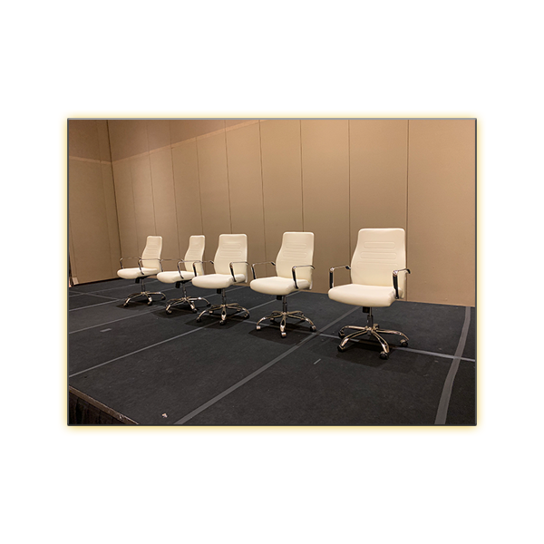 Fenella Office Chairs in White