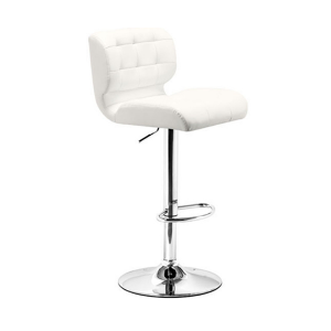 Formula Bar Stool - White
