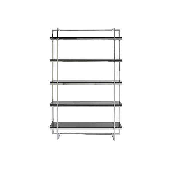 Gilbert Shelve - Black - Front View