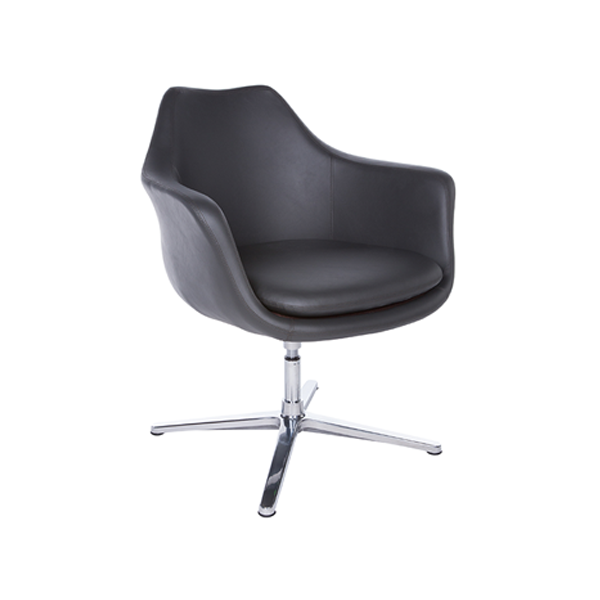 Giovana Lounge Chair - Dark Gray