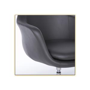 Giovana Lounge Chair - Dark Gray CloseUp