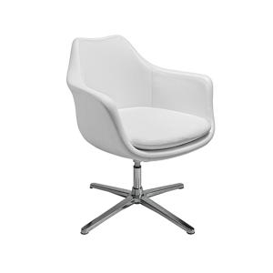 Giovana Lounge Chair - White