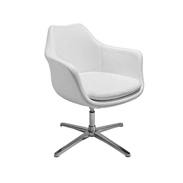 Giovana Lounge Chair - White