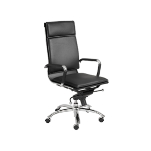 Gunar High Back Office Chair - Black