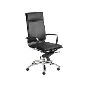 Gunar High Back Office Chair - Black