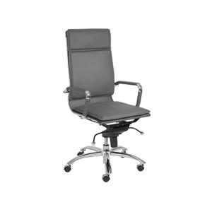 Gunar High Back Office Chair - Gray