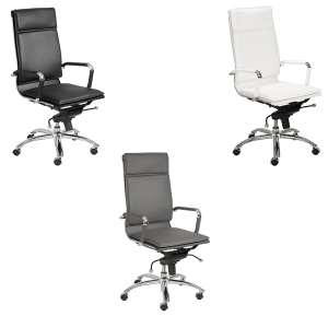 Gunar High Back Office Chairs - V-Decor Trade Show Furniture Rentals in Las Vegas