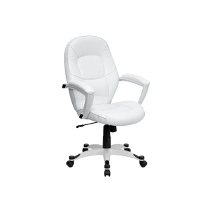 Leah Office Chair - V-Decor Trade Show Furniture Rentals in Las Vegas